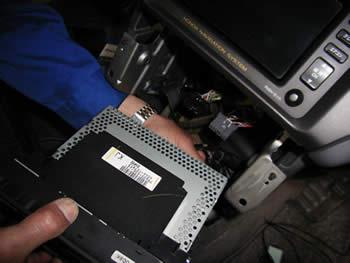 ETC車載器取付方法